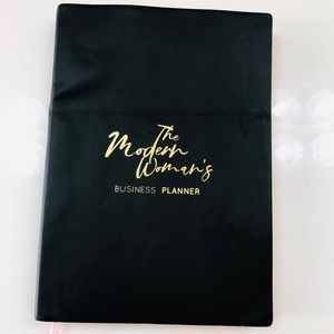 NWT The Modern Woman's Business Journal Leather